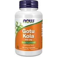 NOW Foods - Gotu Kola 450 mg. - 100 Capsules (733739047007)