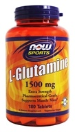 Image of NOW Foods - L-Glutamine 1500 mg. - 180 Tablets