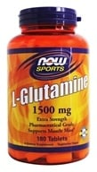 NOW Foods - L-Glutamine 1500 mg. - 180 Tablets - $20.99