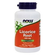 Image of NOW Foods - Licorice Root 450 mg. - 100 Capsules