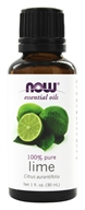 NOW Foods - Lime Oil - 1 oz.