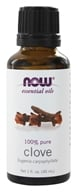 Image of NOW Foods - Clove Oil 100% Pure - 1 oz.