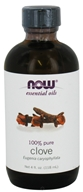 Image of NOW Foods - Clove Oil 100% Pure - 4 oz.