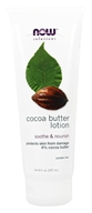 NOW Foods - Cocoa Butter Lotion - 8 oz.
