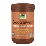 NOW Foods - Cocoa Powder Certified Organic - 12 oz. (733739066725)