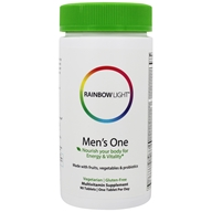 Image of Rainbow Light - Men's One Energy Multivitamin - 90 Tablets