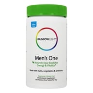 Rainbow Light - Men's One Energy Multivitamin - 150 Tablets by Rainbow Light