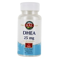 Kal - DHEA 25 mg. - 60 Tablets - $8.95