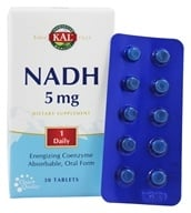 Kal - NADH Energizing Coenzyme 5 mg. - 30 Tablets (021245834007)
