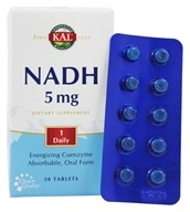 Kal - NADH Energizing Coenzyme 5 mg. - 30 Tablets by Kal