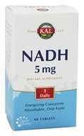 Kal - NADH Energizing Coenzyme 5 mg. - 60 Tablets