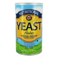 Nutritional Fortified Yeast Flakes Unsweetened - 12 oz.