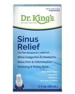 King Bio - Homeopathic Natural Medicine Sinus Relief - 2 oz.