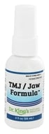 King Bio - Homeopathic Natural Medicine TMJ/Jaw Formula - 2 oz. (357955503224)