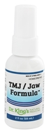 King Bio - Homeopathic Natural Medicine TMJ/Jaw Formula - 2 oz., from category: Homeopathy
