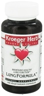 Kroeger Herbs - Lung Formula - 100 Vegetarian Capsules formerly Sound Breath