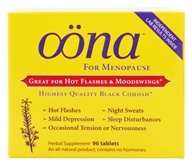 Oona - Herbal Supplement for Menopause - 96 Tablets - $18.98