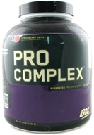 Optimum Nutrition - Pro Complex Augmented Protein System Strawberry Swirl - 4.6 lbs.