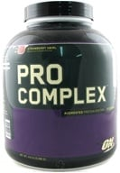 Image of Optimum Nutrition - Pro Complex Augmented Protein System Strawberry Swirl - 4.6 lbs.