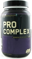 Optimum Nutrition - Pro Complex Augmented Protein System Rich Milk Chocolate - 2.3 lbs. (748927029611)