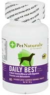 Pet Naturals of Vermont - Daily Best for Dogs Chicken Liver Flavored - 60 Chewable Tablets formerly Natural Dog Daily