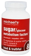 Image of Michael's Naturopathic Programs - Glucose Sugar Metabolism Factors Original Formula - 90 Tablets
