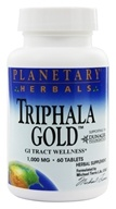 Planetary Herbals - Triphala Gold 750 mg. - 60 Tablets Formerly Planetary Formulas (021078105107)