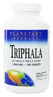 Image of Planetary Herbals - Triphala Traditional Ayurvedic Purifier 1000 mg. - 180 Tablets Formerly Planetary Formulas