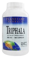 Image of Planetary Herbals - Triphala Traditional Ayurvedic Compound 500 mg. - 180 Capsules Formerly Planetary Formulas
