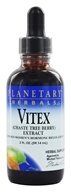 Image of Planetary Herbals - Vitex (Chaste Tree Berry) Extract - 2 oz. Formerly Planetary Formulas