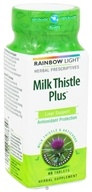 Image of Rainbow Light - Milk Thistle Plus - 60 Tablets