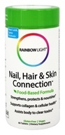 Rainbow Light - Nail, Hair & Skin Connection - 60 Tablets, from category: Nutritional Supplements
