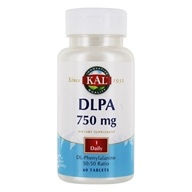 Image of Kal - DLPA (Dl-Phenylalanine) 750 mg. - 60 Tablets