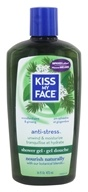 Image of Kiss My Face - Bath & Shower Gel Relaxing Anti-Stress Woodland Pine & Ginseng - 16 oz.