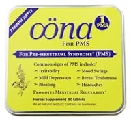 Oona - PMS 1 Pre-Menstrual Syndrome - 90 Tablets, from category: Nutritional Supplements