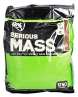 Image of Optimum Nutrition - Serious Mass Chocolate - 12 lbs.