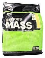 Optimum Nutrition - Serious Mass Vanilla - 12 lbs. - $44.95