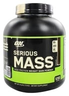 Optimum Nutrition - Serious Mass Chocolate - 6 lbs. (748927022995)