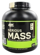 Optimum Nutrition - Serious Mass Chocolate - 6 lbs., from category: Sports Nutrition