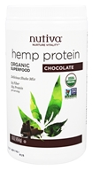 Nutiva - Organic Superfood Hemp Protein Shake Chocolate - 16 oz.