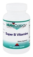 Nutricology - Super B Vitamins - 120 Capsules by Nutricology