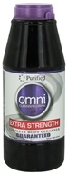 Purified Brand - Omni Cleansing Drink Extra Strength Complete Body Cleanser Grape Flavor - 16 oz.