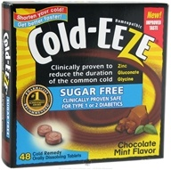 Image of Cold-Eeze - Sugar Free Chocolate Mint - 48 Tablets Formerly by Quigley