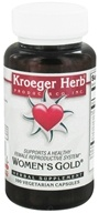 Kroeger Herbs - Herbal Combination Women's Gold - 100 Vegetarian Capsules (696916100394)