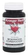 Kroeger Herbs - Herbal Combination The Original Wormwood Combination - 100 Capsules (696916100400)