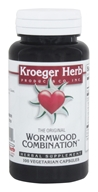 Image of Kroeger Herbs - Herbal Combination The Original Wormwood Combination - 100 Capsules
