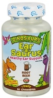 Kal - Dinosaurs Ear-A-Sarus for Kids Root Beer - 60 Chewables by Kal