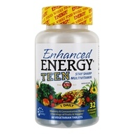 Kal - Enhanced Energy Teen Complete - 60 Vegetarian Tablets - $10.53