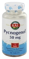 Kal - Pycnogenol 50 mg. - 60 Tablets