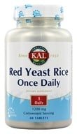 Kal - Red Yeast Rice Once Daily - 60 Tablets (021245105770)